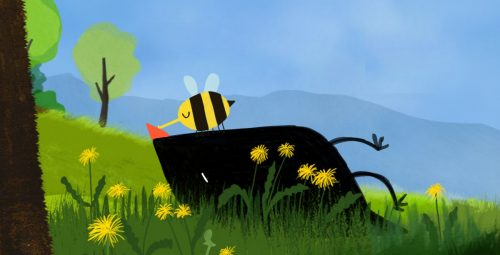 1 Der_kleine_Vogel_und_die_Bienen